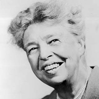 circa 1935:  Headshot of Eleanor Roosevelt (1884 - 1962), known as 'First Lady to the World', 1930s.  (Photo by Hulton Archive/Getty Images)